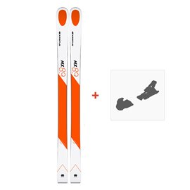 Ski Kastle MX89 2019 + Fixation de ski