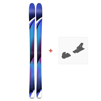 Ski K2 Thrilluvit 85 2019 + Fixation de ski10C0503.101.1