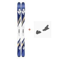 Ski K2 Talkback 84 2019 + Fixation de ski