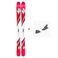 Ski K2 Talkback 96 2019 + Fixation de ski