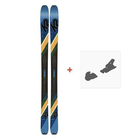 Ski K2 Wayback 84 2019 + Fixation de ski10C0202
