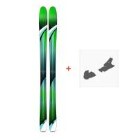 Ski K2 Fulluvit 95 Ti 2019 + Fixation de ski10A0103.101