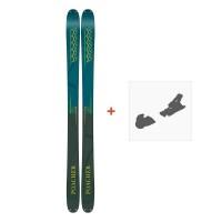 Ski K2 Poacher 2019 + Fixation de ski10C0302.101.1