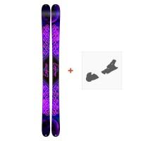 Ski K2 Empress 2019 + Fixation de ski