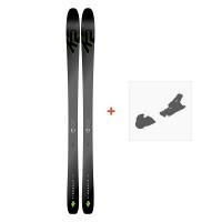 Ski K2 Pinnacle 95 Ti 2019 + Fixation de ski10C0102.101.1.
