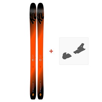 Ski K2 Pinnacle 105 2019 + Fixation de ski10C0101.101.1.