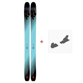 Ski K2 Pinnacle 118 2019 + Fixation de ski10C0100.101.1.