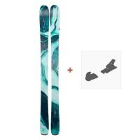 Ski Line Pandora 94 2019 + Fixation de ski19B0201.101