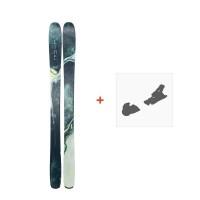 Ski Line Pandora 104 2019 + Fixation de ski19B0200.101