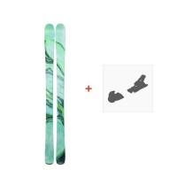 Ski Line Pandora 84 2019 + Fixation de ski19B0201.101