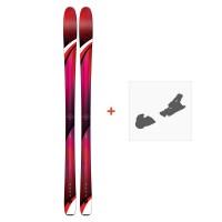 Ski K2 Alluvit 88 Ti 2019 + Fixation de ski10C0502.101.1