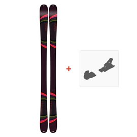 Ski K2 Missconduct 2019 + Fixation de ski10C0700.101.1
