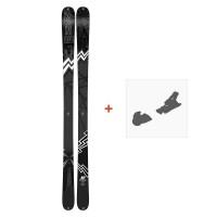 Ski K2 Press 2019 + Fixation de ski10C0304.101.1
