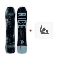Snowboard Ride Warpig 2019 + Fixation