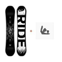 Snowboard Ride Machete 2019 + Fixation12C0008.1.1