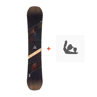 Snowboard Head Daymaker 2019 + Fixation330408