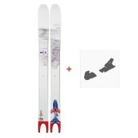 Ski Line Pescado 2019 + fixation de ski19C0000.101.1
