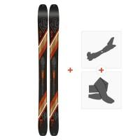 Ski K2 Wayback 106 2019 + Fixations randonnée + Peau10C0200.101.1
