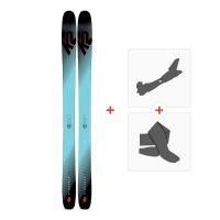 Ski K2 Pinnacle 118 2019 + Fixations randonnée + Peau10C0100.101.1.