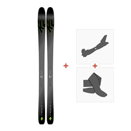 Ski K2 Pinnacle 95 Ti 2019 + Fixations randonnée + Peau10C0102.101.1