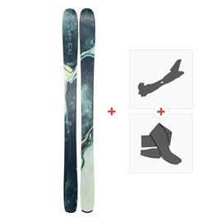 Ski Line Pandora 104 2019 + Fixations randonnée + Peau