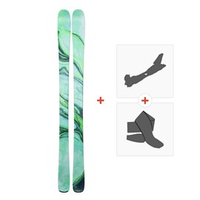 Ski Line Pandora 84 2019 + Fixations randonnée + Peau19B0201.101