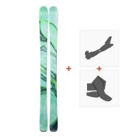 Ski Line Pandora 84 2019 + Fixations randonnée + Peau