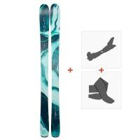 Ski Line Pandora 94 2019 + Fixations randonnée + Peau19B0201.101