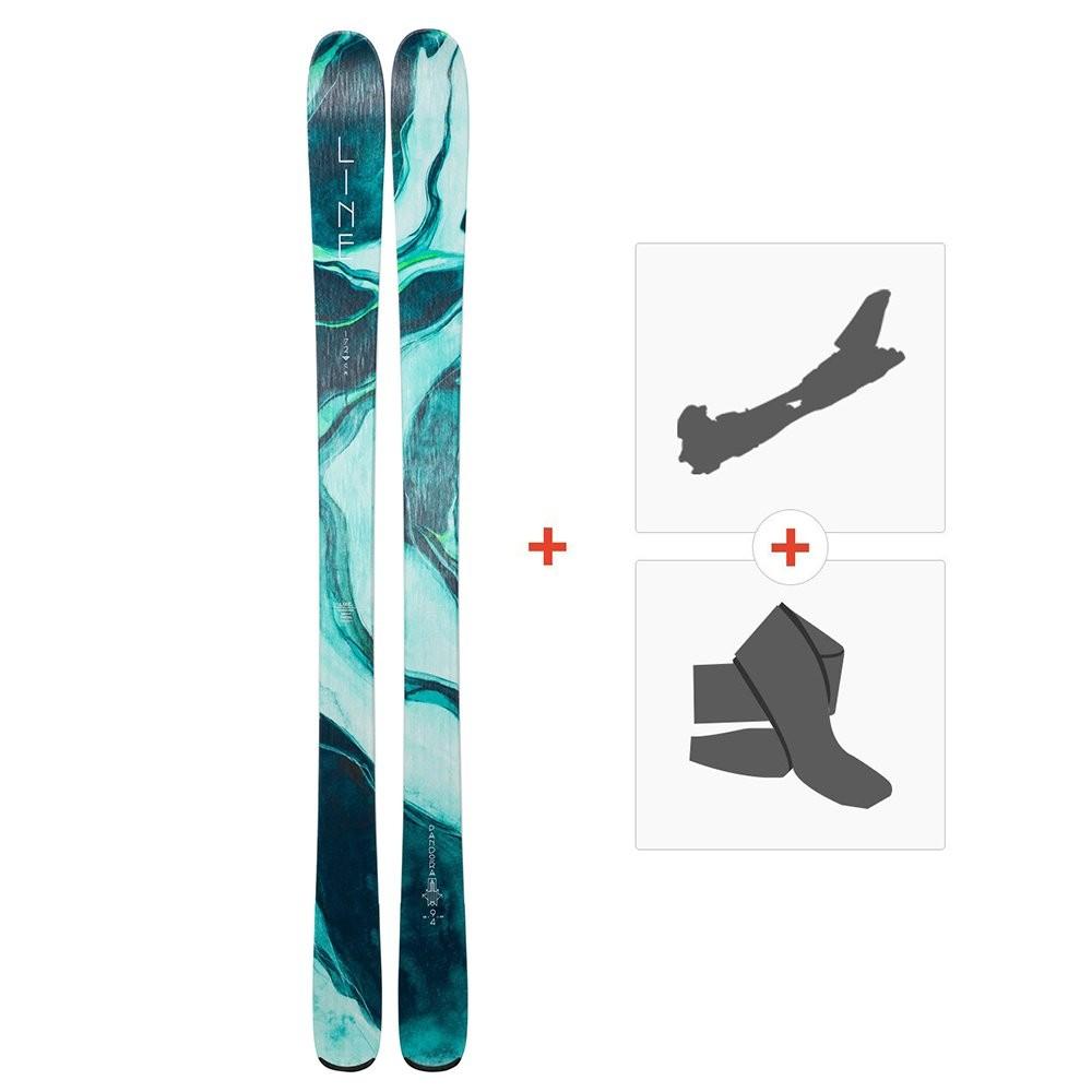 Ski Line Pandora 94 2019 + Fixations randonnée + Peau - Online ski ... 2de7cc300b1e