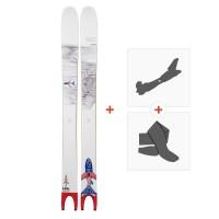 Ski Line Pescado 2019 + Fixations randonnée + Peau19C0000.101.1