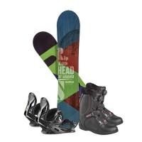 Snowboard Head Rowdy JR 2019 + Fixation + Chaussures336608
