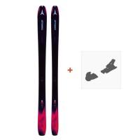Ski Atomic Backland WMN 85 2019 + Fixation de skiAAST0113