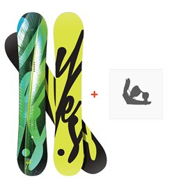 Snowboard Yes Hel Yes 2019 + Fixations de snowboardSY190190