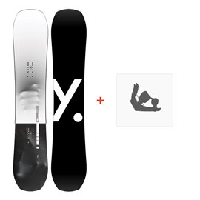 Snowboard Yes Standard 2019 + Fixation de SnowboardSY190
