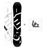 Snowboard Yes Basic 2019 + Fixation de SnowboardSY190174