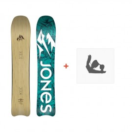 Jones Snowboard Women'S Hovercraft 2019 + Fixation de SnowboardSJ190214