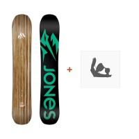 Jones Snowboard Women'S Flagship 2019 + Fixation de SnowboardSJ190201