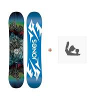 Jones Snowboard Prodigy 2019 + Fixation de SnowboardSJ190266