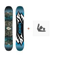 Jones Snowboard Mountain Twin 2019 + Fixation de SnowboardSJ190151