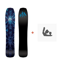 Jones Snowboard Mini Mind Expander 2019 + Fixation de SnowboardSJ190250
