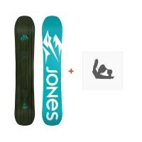 Jones Snowboard Mind Expander 2019 + Fixation de Snowboard