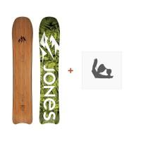 Jones Snowboard Hovercraft 2019 + Fixation de SnowboardSJ180167