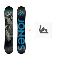 Jones Snowboard Explorer 2019 + Fixation de SnowboardSJ190163