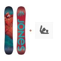 Jones Snowboard Dream Catcher 2019 + Fixation de SnowboardSJ190222