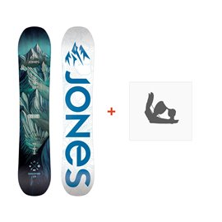 Jones Snowboard Discovery 2019 + Fixation de SnowboardSJ190255