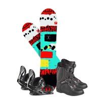 Snowboard Head Rowdy JR 2018 + Fixation + Chaussures336606
