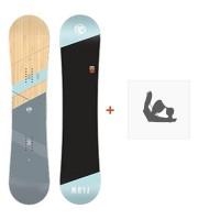 Snowboard Flow Canvas 2018 + Fixation de SnowboardSF180193