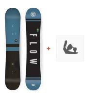 Snowboard Flow Verve 2018 + Fixation de Snowboard