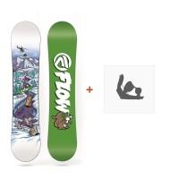 Snowboard Flow Micron Mini 2018 + Fixation de SnowboardSF180242