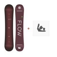 Snowboard Flow Micron Velvet 2018 + Fixation de SnowboardSF180239